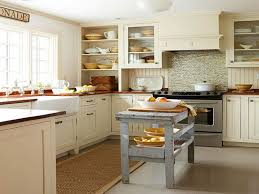 Kitchen Cabinets, White Rectangle Rustic Wooden Cabinet Ideas For Small  Kitchens Stained