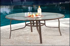round outdoor table top inch round glass top outdoor patio dining scheme of wrought iron patio
