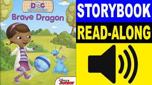 doc mcstuffins read along story book brave dragon read aloud story books for kids