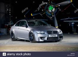 E90 Shape Bmw M3 German Sports Car Modified And Supercharged Stock Photo Alamy