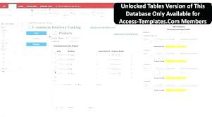 Microsoft Access Work Order Database Download Work Order Database Template Access Management