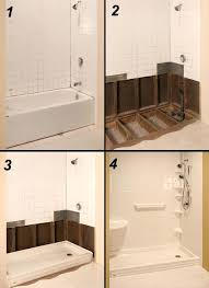 how to turn a bathtub into a shower turn bathtub into shower decorate com turn bathtub