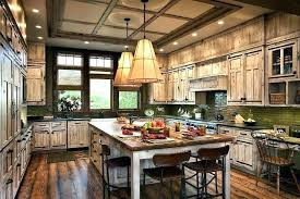 ranch style kitchen cabinets rustic kitchens with house pictures