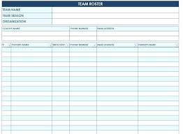 Team Roster Template Inspirational Nice Soccer Team Names The