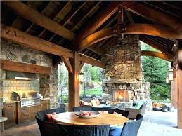 kitchen pizza oven outdoor with rustic porch lighting harbor wall exterior stone floors manual selectives wit kitchen pizza oven