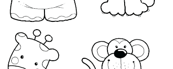 Coloring Pages Preschool Animal Coloring Pages Safari Animals