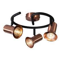 ceiling spot copper swivel and tiltable