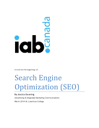 search engine optimization  seo  mini essay explanation