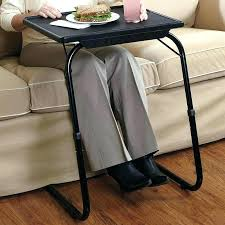 folding couch table sofa transforms into guest bed extendable portable folding couch tray table by spiderlegs