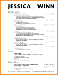6 College Resume Template For High School Students Graphic Resume