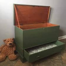 diy toy storage ideas antique chest makeover to toy box dark green wooden toybox
