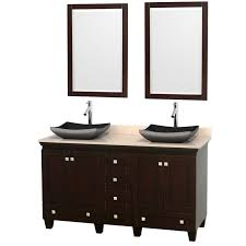 double vessel sink vanity. Wyndham Collection Acclaim 60\ Double Vessel Sink Vanity