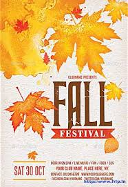 Fall Flyer 80 Best Fall Festival Flyer Print Template 2018 Frip In