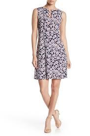 Msk Dresses Size Chart Sleeveless 3 Ring Dress