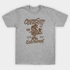 Vintage <b>CinemaScope Retro Movie</b> Festival - Cinema - Camiseta ...