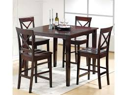 Steve Silver Cobalt 5 Piece Casual Counter Height Table X Back