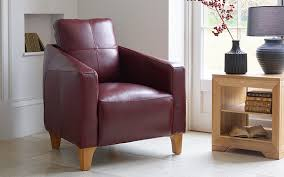 burdy red leather armchair 800x500