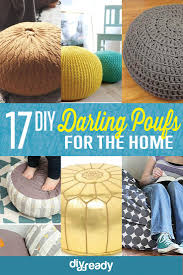 17 DIY Pouf Ideas, check it out at https://diyprojects.com