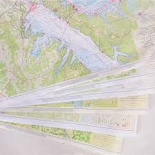 Group Of Cumberland River Navigational Maps