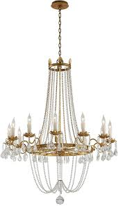 troy f viola traditional distressed gold w b large chandelier house on fron the lighting brushed nickel