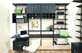 office shelving units. Interior:Wonderful New Workspace In Her Apartment Bedroom Office Home Shelving Units Wall Ideas Cabinets :