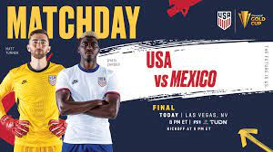 2021 Concacaf Gold Cup Final: USA vs ...
