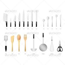 kitchen utensils. Kitchen Utensils Vector - Man-made Objects