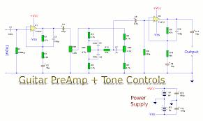 guitar preamp tone controls