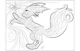 Small Picture Coloring Pages Animals Coloring Pages Of Fox Fox Coloring Pages