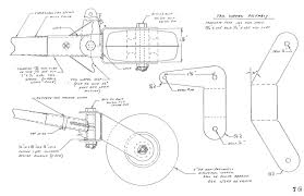 07 13 the tail wheel assembly requires a piece of steel tubing or bushing stock 3 8 x 058 x1 9 to serve as a bushing between the axle bolt and bearning if