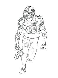 Small Picture Football Player coloring pages Free Printable Football Player
