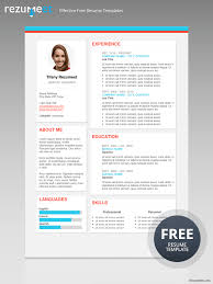 The Plateau - Free Modern Resume Template