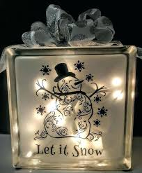 glass block decoration ideas best glass block crafts ideas on lighted glass with glass block crafts