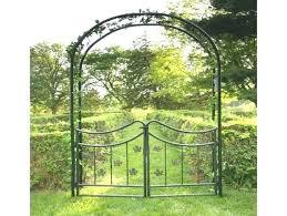 wrought iron garden arches australia