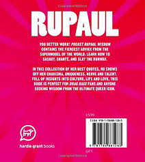 Rupaul Quotes Classy Pocket RuPaul Wisdom Witty Quotes And Wise Words From A Drag
