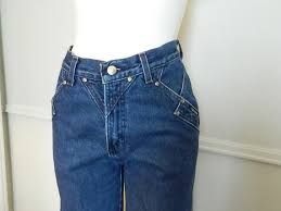 Authentic Ladies Vtg Highwasted Rockies Jeans Size Small Made In Usa