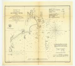 Tide Chart Kennebec River Bath Maine Preliminary Chart Of The Mouth Of Kennebec River Maine Print
