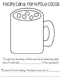 hot chocolate mug writing template. Modren Mug Recipe Card For Hot Chocolate Kids Write Response On Mug For Hot Chocolate Mug Writing Template S