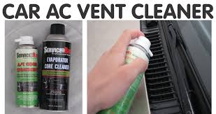 Vent System How To Get The Bad Smell Out Of Car Ac Vent System Diy