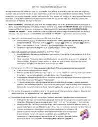 some quick notes on writing good historical essays leqs  how to write the apush long essay leq