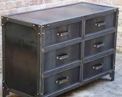 vintage metal dresser hospital furniture 5. Modern Industrial Steel Bedroom Dresser | Vintage Style Riveted Furniture Drawer Cabinet Metal Hospital 5 I