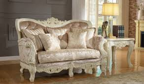 Traditional Living Room Set 687 Grace Traditional Living Room Set In Pearl White By Meridian