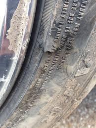 Tire Sidewall Damage Replace Motor Vehicle Maintenance