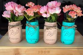 How To Decorate Mason Jars 100 Painted Mason Jars Guide Patterns 81