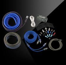 c series ck amp kit 8awg 2 channel amp kit