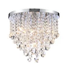 sentinel debenhams home collection harper flush ceiling light chandelier glass droppers