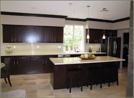 Expresso Kitchen Cabinets Espresso Kitchen Cabinets With Granite Home Design Ideas