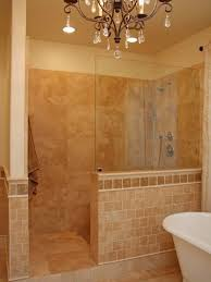 Walk In Shower Designs Without Doors Walk In Tile Shower Without Door Tiles  In Traditional Model