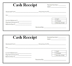 Purchase Receipt Template Free