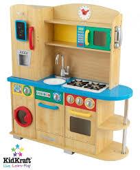 kids wooden kitchen playset
